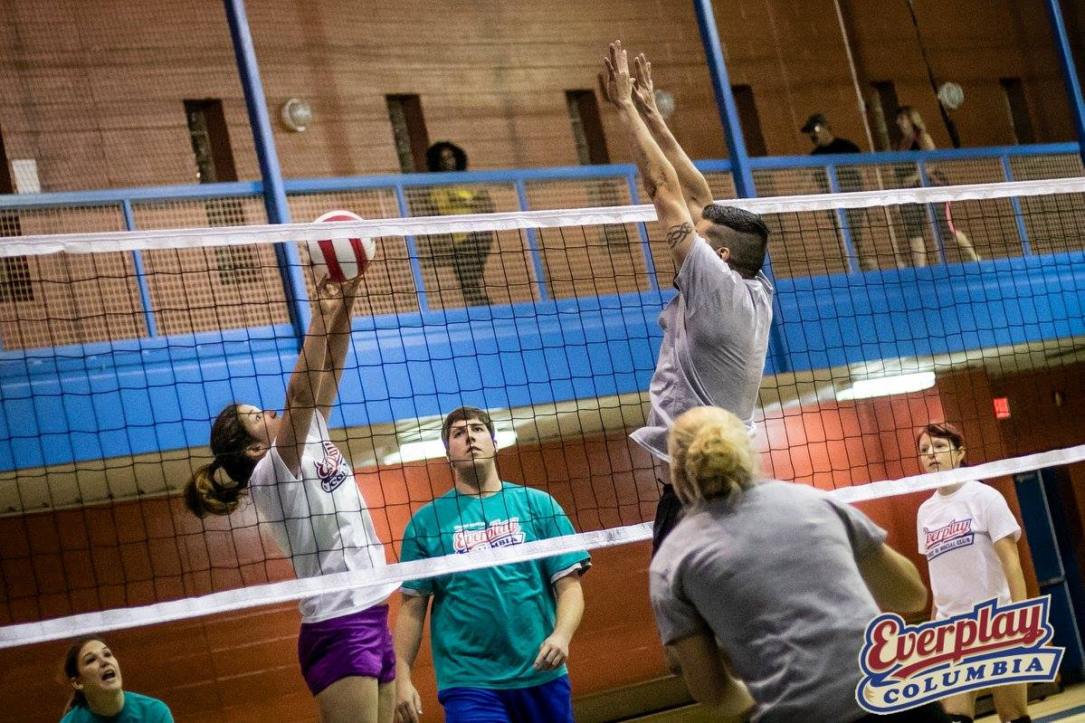Indoor Volleyball - Mondays - West Columbia (Late Fall)   Everplay
